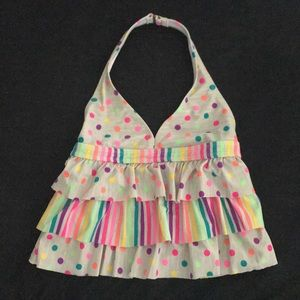 Other - Gray and Rainbow Swimsuit Top